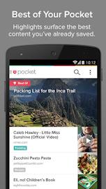 Pocket Screenshot 4