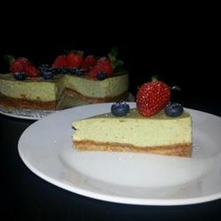 Green Tea Cheesecake.
