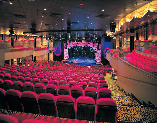 Norwegian-Star-Stardust-Theater - When cruising on Norwegian Star, be sure to take in one of the shows in the Stardust Theater.