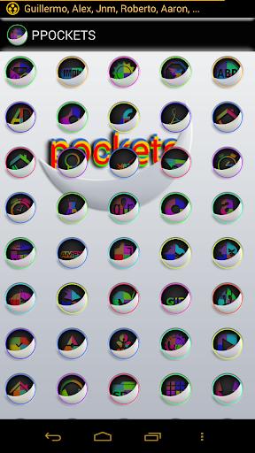 【免費個人化App】PAZTEL POCKETS ICON PACK-APP點子