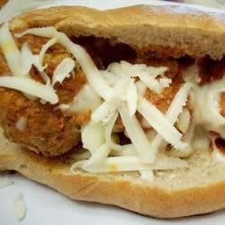Baked Meatball Sandwiches.