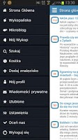 Screenshot of Wykop