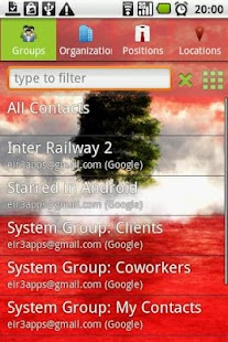 Corporate Contacts (free)- screenshot thumbnail