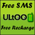 Ultoo Send SMS & Free Recharge icon