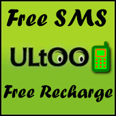Ultoo Send SMS & Free Recharge