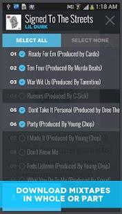 DatPiff - Free Mixtapes - screenshot thumbnail