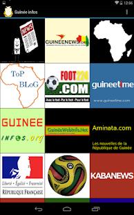 玩新聞App|Guinée Conakry Infos & Actus免費|APP試玩