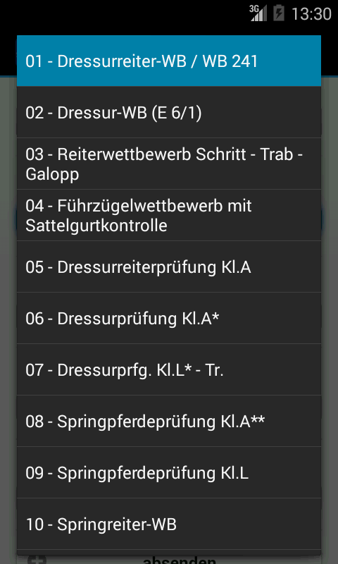 Turnierservice Holzer- screenshot