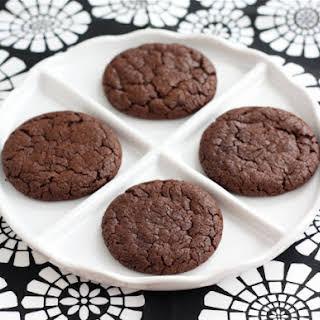 Chocolate Nutella Cookies.