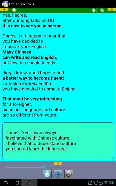 Learn EFL for Chinese speakers - screenshot