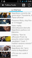 Screenshot of Politica Facile