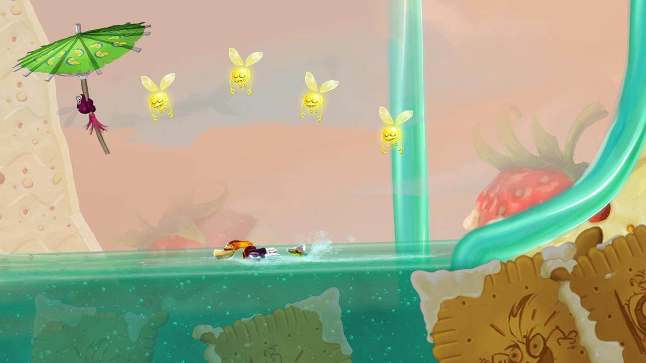 Rayman Fiesta Run - screenshot