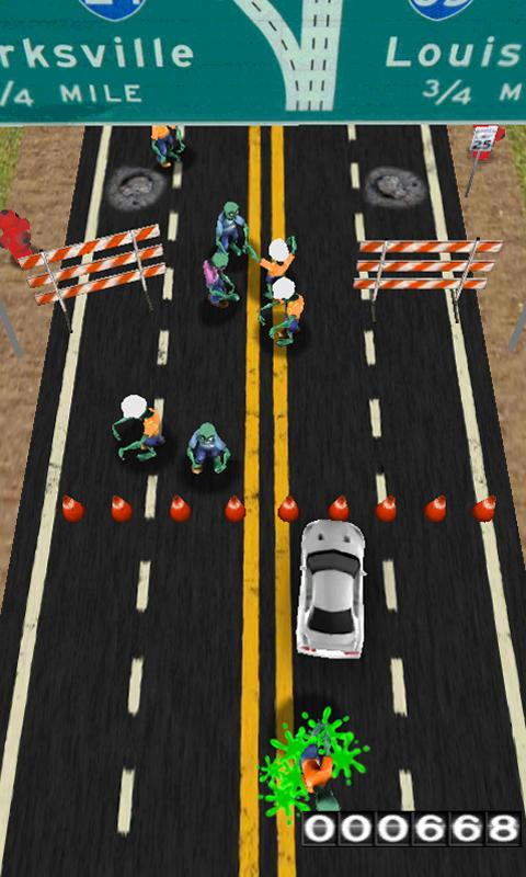 ZOMBIES! Hit and RUN!- screenshot