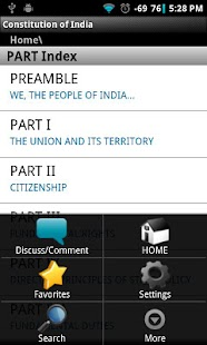 Constitution of India- screenshot thumbnail