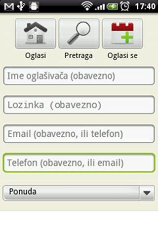 Oglasna Tabla- screenshot