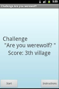 "Challenge ""Are you werewolf?"" - screenshot thumbnail"