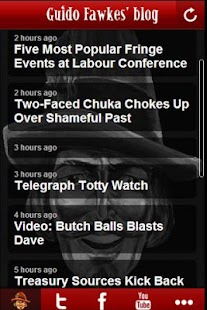 Guido Fawkes Blog - screenshot thumbnail