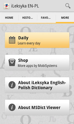 iLeksyka English-Polish Trial