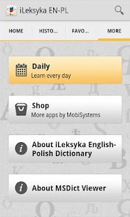 iLeksyka English-Polish Trial - screenshot thumbnail