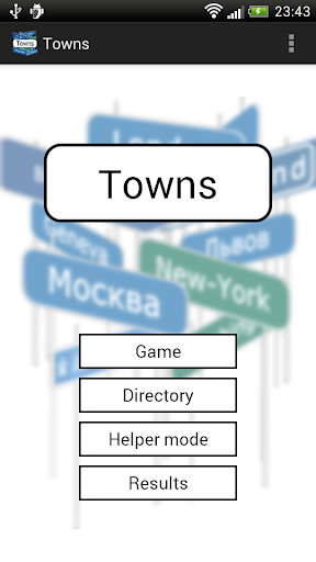 Towns game and directory