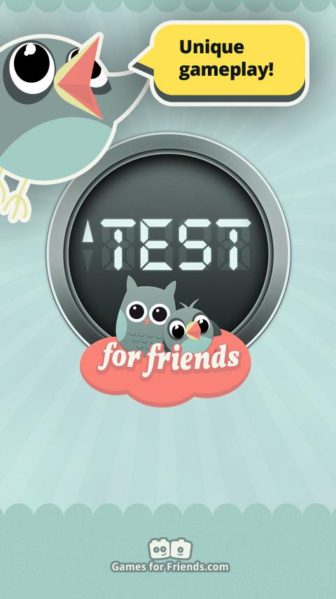 Test for Friends - screenshot