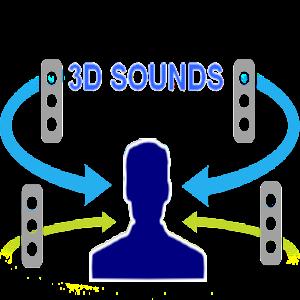 تطبيق الأصوات ثلاثية الأبعاد ووضعة كنغمة