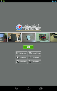 Playcolors home inventory- screenshot thumbnail