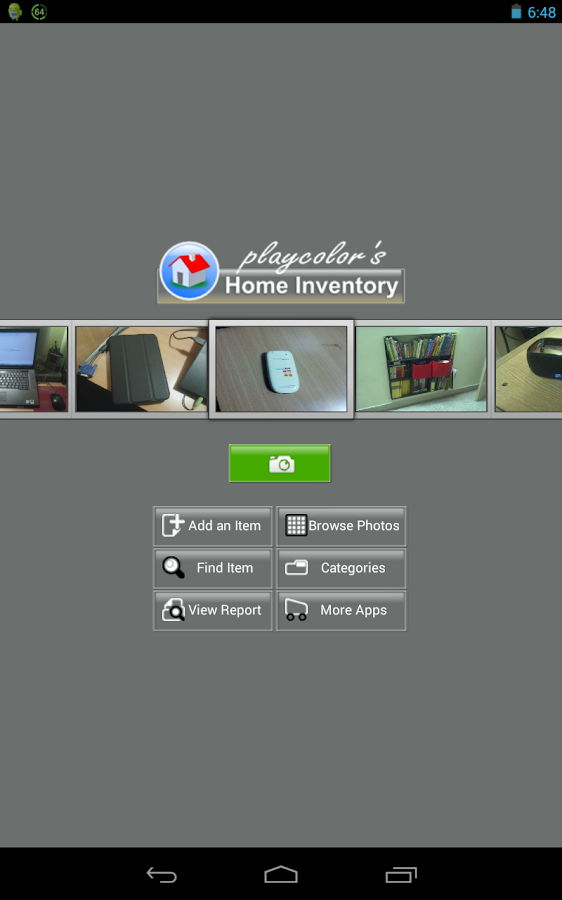 Playcolors home inventory- screenshot