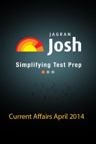 Current Affairs April 2014