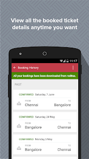 redBus - Bus Ticket Booking - screenshot thumbnail