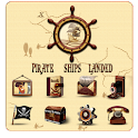 Pirate GO LauncherEX Theme logo