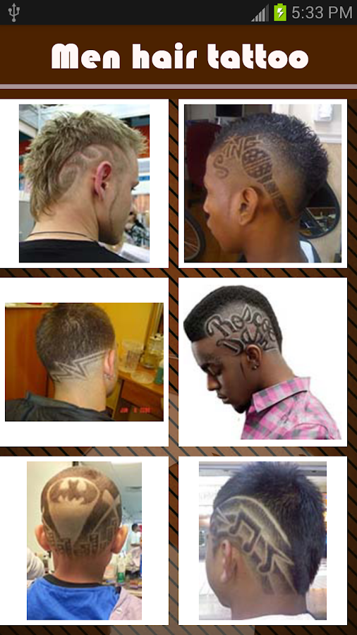 Pleasing Men Hairstyle Tattoo Android Apps On Google Play Short Hairstyles Gunalazisus