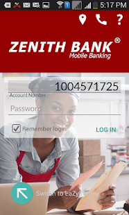 Zenith Bank Mobile App - screenshot thumbnail