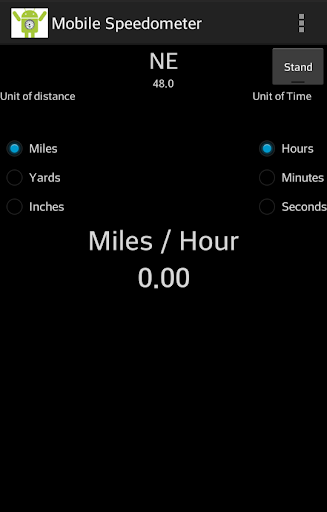 Mobile GPS Speedometer