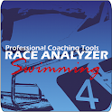 Swimming Race Analyzer Pro icon