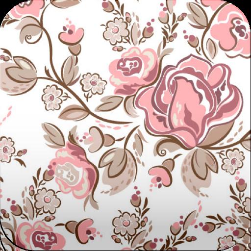 复古花卉壁纸 個人化 App Store-愛順發玩APP