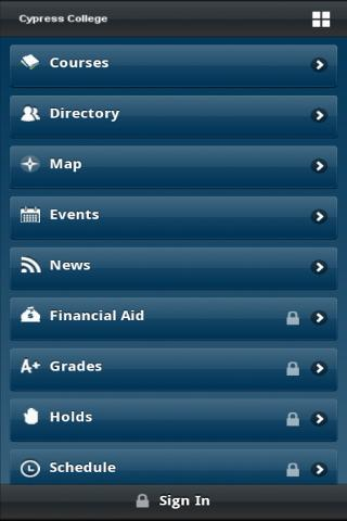 Cypress College - screenshot