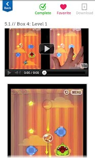Walkthrough for Cut the Rope - screenshot thumbnail