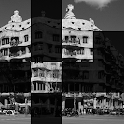 La Pedrera, Barcelona. Puzzle icon