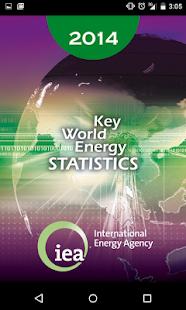 IEA KeyWorldEnergyStatistics - screenshot thumbnail