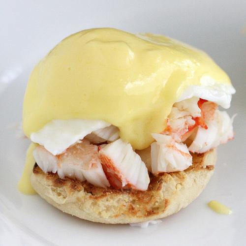 King Crab Eggs Benedict Recipe