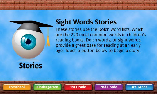 Sight Words Stories