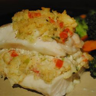 Crab Stuffed Haddock
