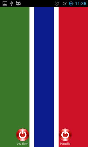 Lantern flash screen Gambia