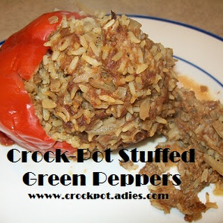 Crock-Pot Stuffed Green Peppers