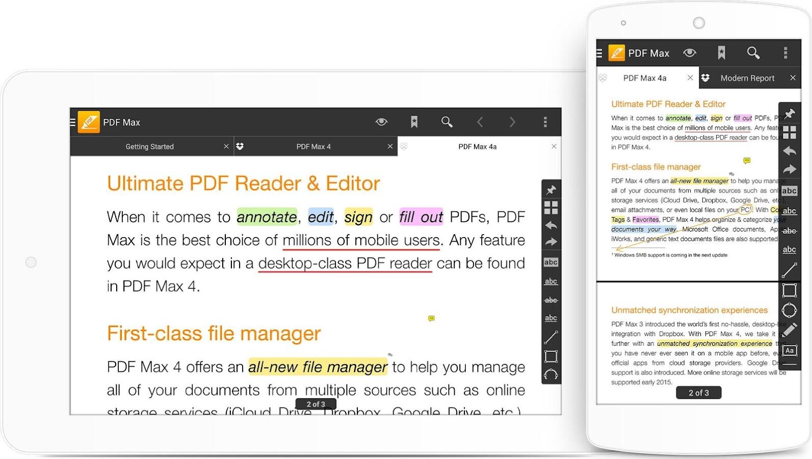Pdf Max  The #1 Pdf Reader! Screenshot