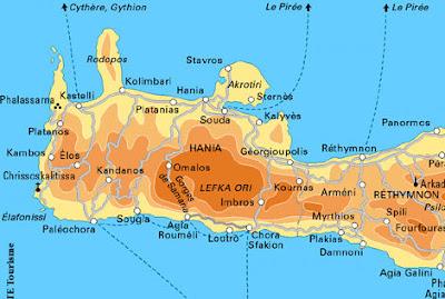 Carte De La Crete Ouest.Vacances En Crete L Hotel Finis Africae