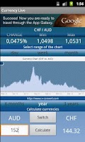 Screenshot of Currency Exchange Rates Live