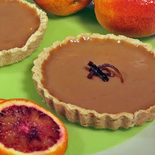 Blood Orange and Maple Custard Tart (Vegan, Gluten Free) Recipe