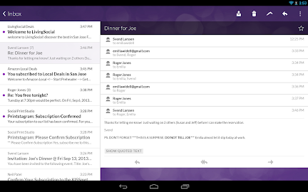 Email App for Gmail & Exchange Screenshot 4